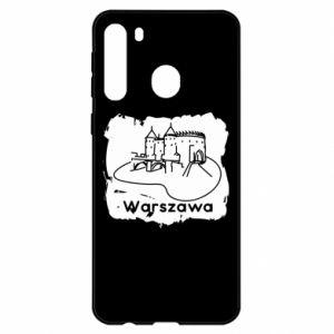 Etui na Samsung A21 Warszawa. Zamek