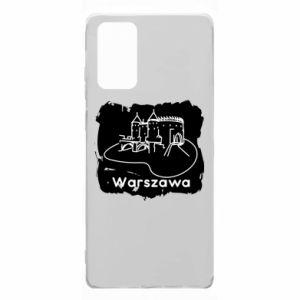 Etui na Samsung Note 20 Warszawa. Zamek