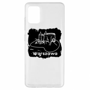 Etui na Samsung A51 Warszawa. Zamek