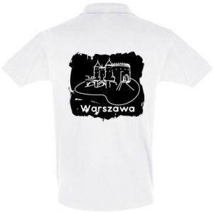Koszulka Polo Warszawa. Zamek