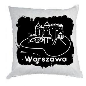 Poduszka Warszawa. Zamek