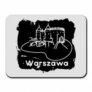 Podkładka pod mysz Warszawa. Zamek