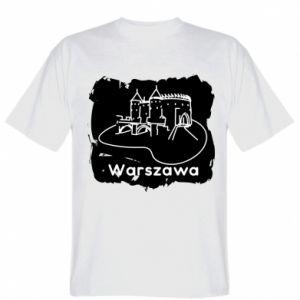 T-shirt Warsaw. Castle