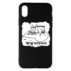 Etui na iPhone X/Xs Warszawa. Zamek