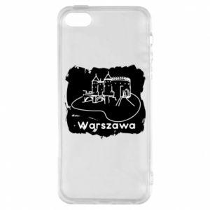 Etui na iPhone 5/5S/SE Warszawa. Zamek
