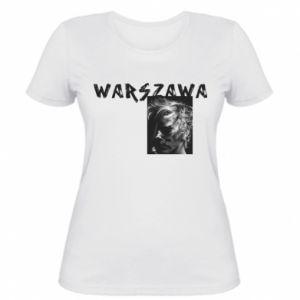 Damska koszulka Warszawa