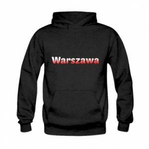 Kid's hoodie Warsaw