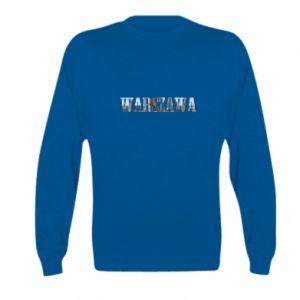 Kid's sweatshirt Warsaw