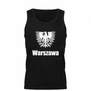 Męska koszulka Warszawa - PrintSalon