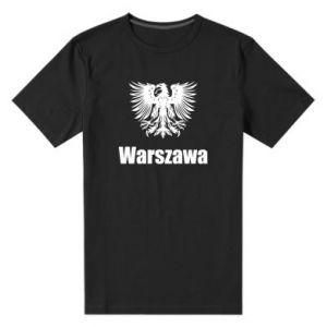 Męska premium koszulka Warszawa - PrintSalon