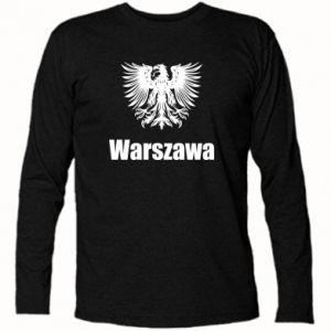 Koszulka z długim rękawem Warszawa - PrintSalon