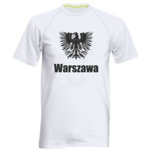 Men's sports t-shirt Warsaw