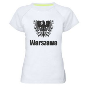 Women's sports t-shirt Warsaw
