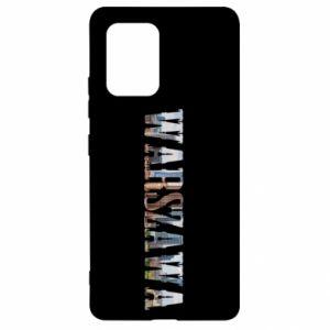 Samsung S10 Lite Case Warsaw