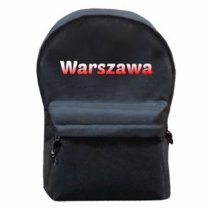 Plecak z przednią kieszenią Warszawa - PrintSalon