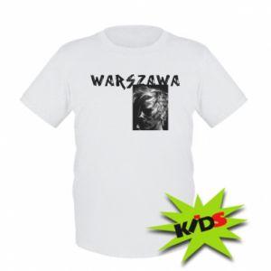 Dziecięcy T-shirt Warszawa - PrintSalon