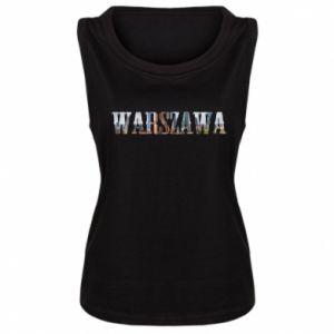 Damska koszulka Warszawa - PrintSalon