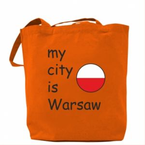 Bag My city is Warsaw