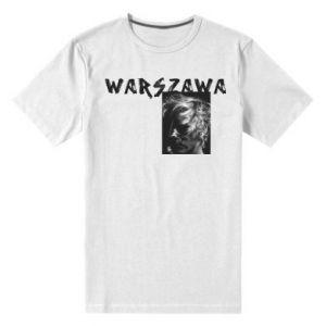 Men's premium t-shirt Warszawa