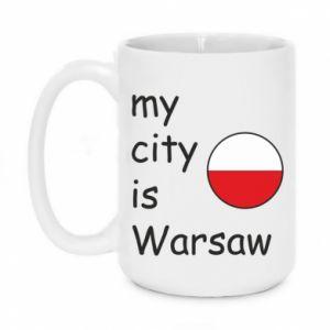 Kubek 450ml My city is Warszaw