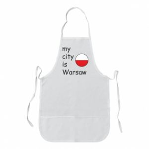 Apron My city is Warsaw