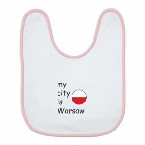 Bib My city is Warsaw