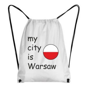 Backpack-bag My city is Warsaw