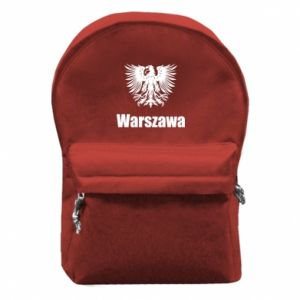 Backpack with front pocket Warsaw