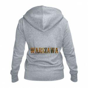 Damska bluza na zamek Warszawa - PrintSalon