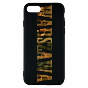 Phone case for iPhone 8 Warsaw