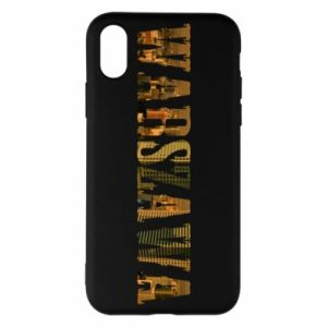 Phone case for iPhone X/Xs Warsaw