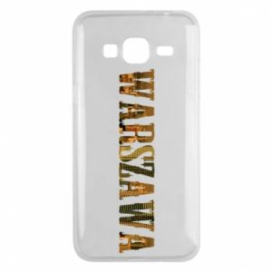 Phone case for Samsung J3 2016 Warsaw