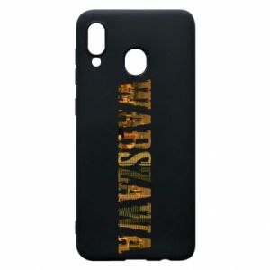 Phone case for Samsung A30 Warsaw