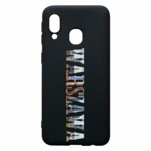 Samsung A40 Case Warsaw