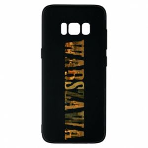 Phone case for Samsung S8 Warsaw
