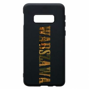 Phone case for Samsung S10e Warsaw