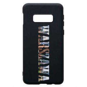 Samsung S10e Case Warsaw