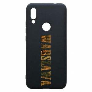 Phone case for Xiaomi Redmi 7 Warsaw