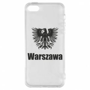 Phone case for iPhone 5/5S/SE Warsaw