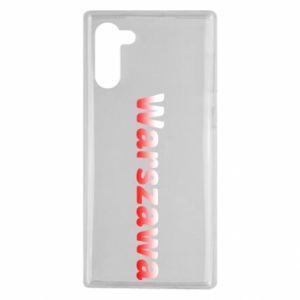 Samsung Note 10 Case Warsaw