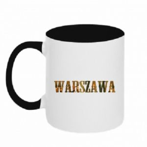 Kubek dwukolorowy Warszawa