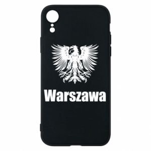 Phone case for iPhone XR Warsaw