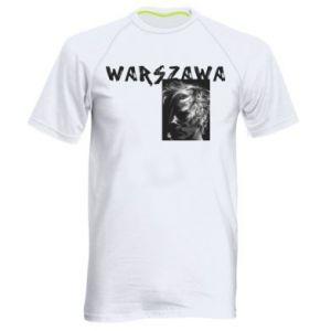 Męska koszulka sportowa Warszawa