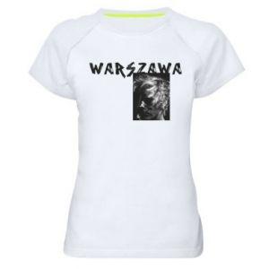 Damska koszulka sportowa Warszawa - PrintSalon