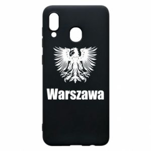 Phone case for Samsung A20 Warsaw