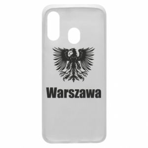 Phone case for Samsung A40 Warsaw