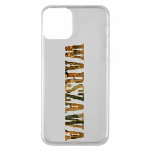 Phone case for iPhone 11 Warsaw