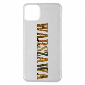 Phone case for iPhone 11 Pro Max Warsaw