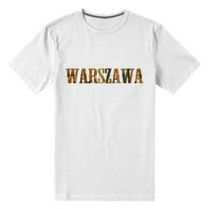 Męska premium koszulka Warszawa