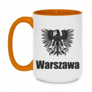 Two-toned mug 450ml Warsaw
